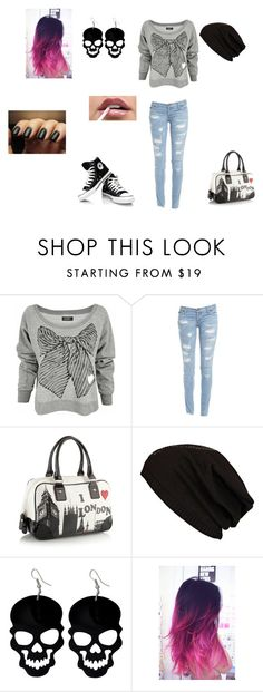 """""""Chiara <3"""" by valerio-busillo ❤ liked on Polyvore featuring LAUREN MOSHI, Bardot, Red Herring and River Island"""