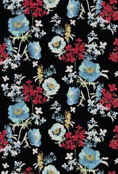 """kathytastic: """" Dark floral """""""