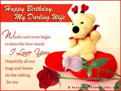 Special Birthday Wishes - Messages, Wordings and Gift Ideas Happy Birthday Husband Romantic, Romantic Birthday Wishes, Happy Birthday Love, Wife Birthday Quotes, Birthday Wishes For Wife, Birthday Board, Birthday Ideas, Happy Birthday Wishes Messages, Happy Birthday Greetings