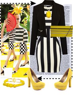 Spring 2013 Fashion Trend - Canary Yellow