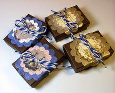 BluKatKraft: Handmade Packaging: Recycled and Repurposed Gift Boxes