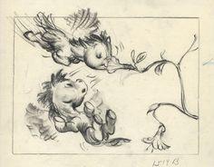 Disney - Fantasia - Original storyboard