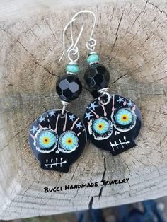 Introductory Price of 44 will be 58. Crazy Eyed Sugar Skull