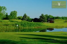 $25 for 18 Holes with Cart and Range Balls at Wood Wind Golf Club in Westfield near Indianapolis ($65 Value. Expires July 1, 2018!)