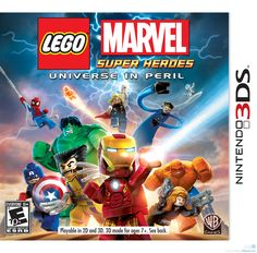 LEGO® Marvel™ Super Heroes: Universe in Peril features an original story crossing the entire Marvel Universe. Players take control of Iron Man, Spider-Man, the Hulk, Captain America, Wolverine and man