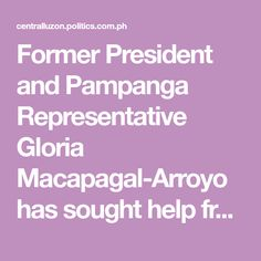 """Former President and Pampanga Representative Gloria Macapagal-Arroyo has sought help from the Filipino-Chinese businessmen on her advocacy to send to China qualified students from each region in the country in order for them to learn from """"Chinese economic miracle."""""""