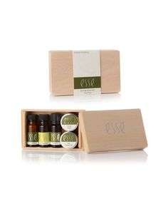 Esse Trial Pack For Dry & Sensitive Skin. A selection of 5 miniature products, ideal for travel, as a gift or to try the range. Dry Sensitive Skin, Organic Skin Care, Trials, Packaging Design, Miniature, Skincare, Packing, Branding, Range