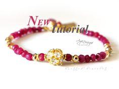 NEW TUTORIAL Knotted bracelet pdf pattern