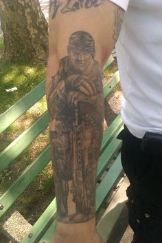 Marcus from gears of war tattoo