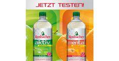100 Tester für Rosbacher Aktiv Apfel & Mental Orange