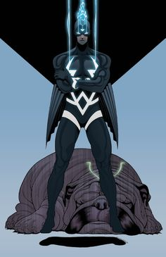 Black Bolt & Lockjaw by Tradd Moore and Dee Cunniffe