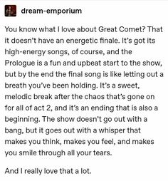Great Comet Of 1812, The Great Comet, Theatre Nerds, Musical Theatre, Finding Neverland, Spring Awakening, Dear Evan Hansen, Lord And Savior, Avatar The Last Airbender