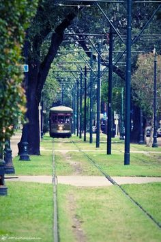 A trip to New Orleans is not complete unless you take a ride on the trolley!