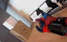 REAL-LIFE SPIDERMAN WEB SHOOTER