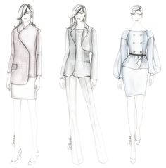 Zorana Kozomara Designs Dress Design Drawing, Dress Design Sketches, Fashion Design Sketchbook, Fashion Design Drawings, Fashion Sketches, Fashion Drawing Tutorial, Fashion Model Drawing, Fashion Drawing Dresses, Fashion Illustration Dresses
