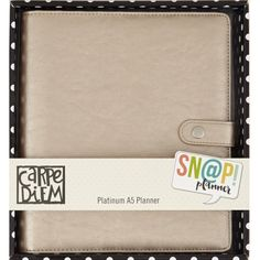 Carpe Diem Platinum  A5 Planner  In Stock  by PlayingWithColor2