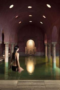 Hammam Al Andalus: Sala Templada