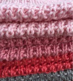 by GJ: DIY - Strikket karklud # 3 - Perlerib Free Crochet, Knit Crochet, Knit Patterns, Diy And Crafts, Knitting, Diys, Design, Dishcloth, Cupcakes