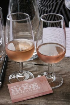 Loving dry rose wines
