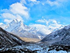 """The Sherpas and Tibetans worship Everest as Chomolongma, or """"Mother Goddess of the Earth."""" Luckily you don't need to actually climb the 29,000 feet to the """"Top of the World"""" to experience its magnificence and the beauty of the surrounding valleys and forests."""