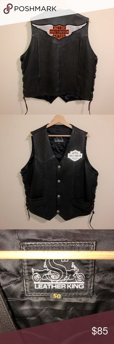 "Biker vest patch  ROAD KING  4/"" X 1/"" IRON//SEW Weath Blue ON Black"