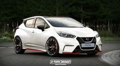 Nissan Micra Nismo, ¿llegará algo así a nuestras carreteras? - http://www.actualidadmotor.com/nissan-micra-nismo-render/