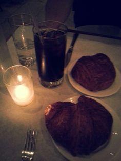 plain & choco croissant 정유니랑