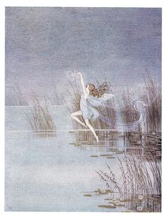A Little Mist Played over the Pond Ida Rentoul Outhwaite 1928