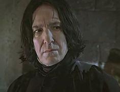 Harry Potter Severus Snape, Alan Rickman Severus Snape, Severus Rogue, Rogues, Fictional Characters, Fantasy Characters