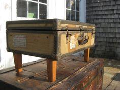 Trunk Side Table by atlanticworkshop on Etsy, $245.00
