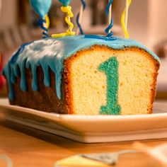 Geburtstagskuchen Birthday Cake Recipe: A lemon cake with a great surprise for your birthday – one of delicious, tasty recipes by Dr. Dessert Simple, Lemon Desserts, Easy Desserts, Donut Recipes, Cake Recipes, Fire Food, Number Cakes, Baking With Kids, Cupcakes