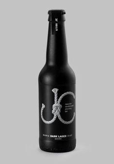 Packaging Design - beer bottle via Zure and Lovelypackage.com
