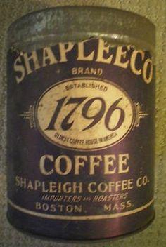 Shapleeco Brand 1796 Coffee