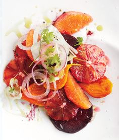 Blood Orange Salad #travellingdietitian #healthyeating #thecleanseparation www.travellingdietitian.com
