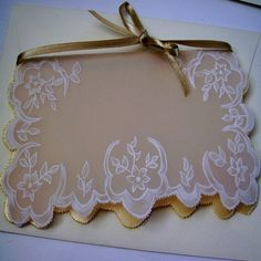 Handmade Parchment Paper Craft Vintage Style, Greeting cards, Thank You Cards, Love Cards, Flowers