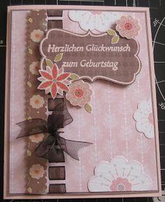 paperandco: Card in rosa