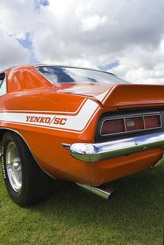 1969 Chevrolet Camaro coupe Yenko SYC COPO (Central Office Production Order) 9561, L72 option iron block 427 cid 425 horsepower big block in Hugger Orange