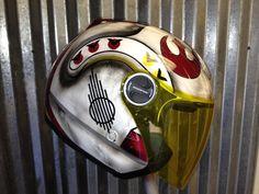 I need this!!!! Rebel Alliance motorcycle helmet