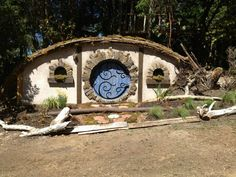The Construction Of A Hobbit Hole  http://makezine.com/2014/06/02/the-construction-of-a-hobbit-hole/