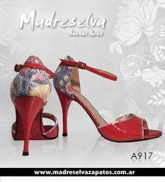 Madreselva zapatos para tango!