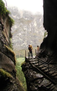 Trümmelbach Falls, SWITZERLAND