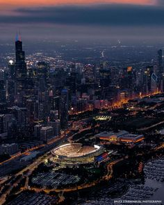 """Chicago Bears on Instagram: """"Welcome to the great city of Chicago! Hope you brought your coat. 🥶 #NBAAllStar"""" Chicago Bears, Chicago Hope, Nfl Highlights, Gale Sayers, Soldier Field, Airplane View, Space Rocket, America, Cosmopolitan"""