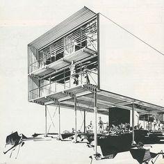 archiblogsy:  Greta Grossman. Arts and Architecture. Feb 1951:...