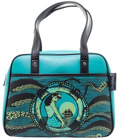 SOURPUSS TENTACLED BOWLER PURSE - Sourpuss Clothing