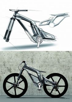 Audi lithium-ion-battery-powered E-bike Worthersee concept.As seen on core77