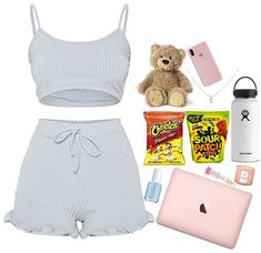 Cute Lazy Day Outfits, Swag Outfits For Girls, Cute Swag Outfits, Chill Outfits, Teenager Outfits, Teen Fashion Outfits, Trendy Outfits, Jugend Mode Outfits, Cute Sleepwear