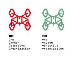 OOOO - One Oxygen Objective Organization © Javier Llanes Symbols, Peace, Organization, Design, Getting Organized, Organisation, Tejidos, Sobriety
