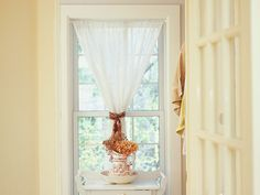 1000 images about rod pocket hourglass on pinterest for Window treatments for double hung windows