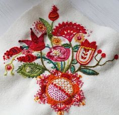 Ä I A Gart Swedish embroidery