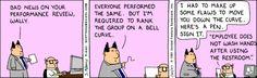 Performance reviews - Dilbert Website